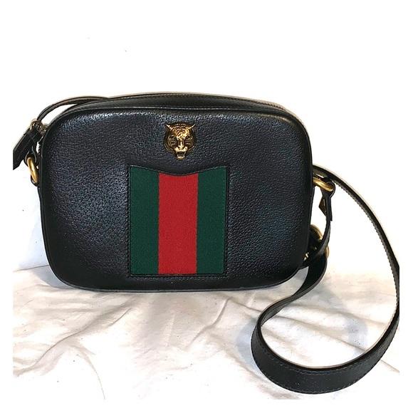 cd082a19b5e937 Gucci Bags | Animalier Crossbody Bag | Poshmark